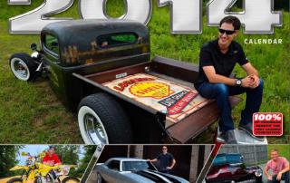 Racers Dream Garage Calendar