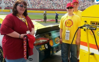 Officer Charles Bryce Johnson Honored at Coca-Cola 600